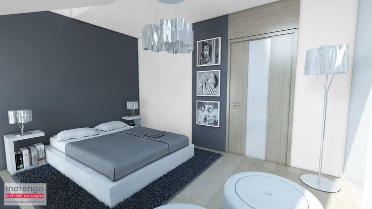 projekt mieszkania w Bochni, więcej na: http://marengo-architektura.pl/portfolio/poddasze-w-bochni/