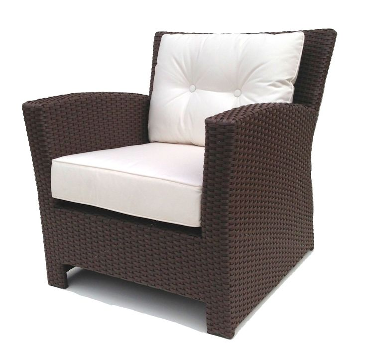 Outdoor Wicker Club Chair Part 75
