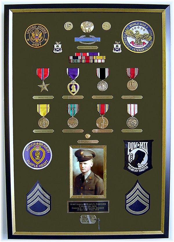 Military Shadow Box Framing On Behance