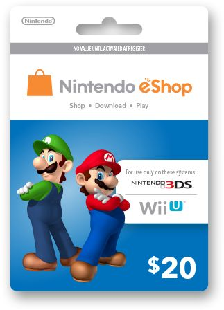 Nintendo eShop Cards are the most useful! Lately, most of the Nintendo games I want I download.