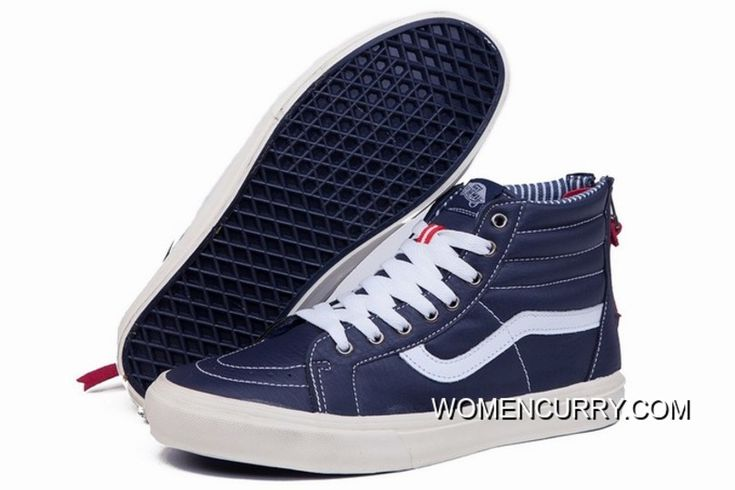 https://www.womencurry.com/vans-sk8hi-blue-white-leather-zip-womens-shoes-new-style.html VANS SK8-HI BLUE WHITE LEATHER ZIP WOMENS SHOES NEW STYLE Only $68.87 , Free Shipping!