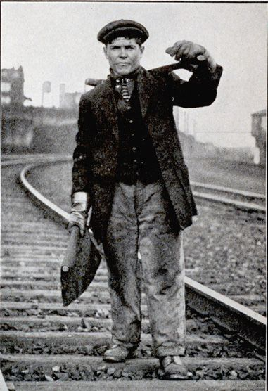 Irish track workers of the mid-19th century who filled the ever-growing demands of the burgeoning railroad industry to the new wave of Italian immigrants in the late 19th and early 20th centuries, these laborers filled some of the least desirable and most dangerous jobs constructing and maintaining railroad lines