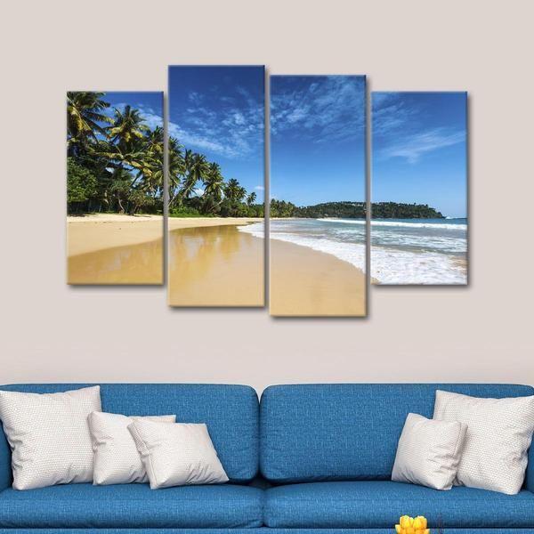 Tropical Vacation Multi Panel Canvas Wall Art Canvas Wall Art