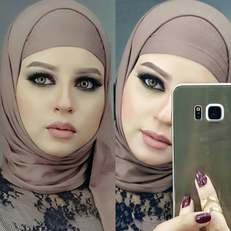 Beautiful Egyptian hijab tutorial - Egyptian  Omnia Farouk the Barbie girl http://www.justtrendygirls.com/egyptian-model-omnia-farouk-the-barbie-girl/