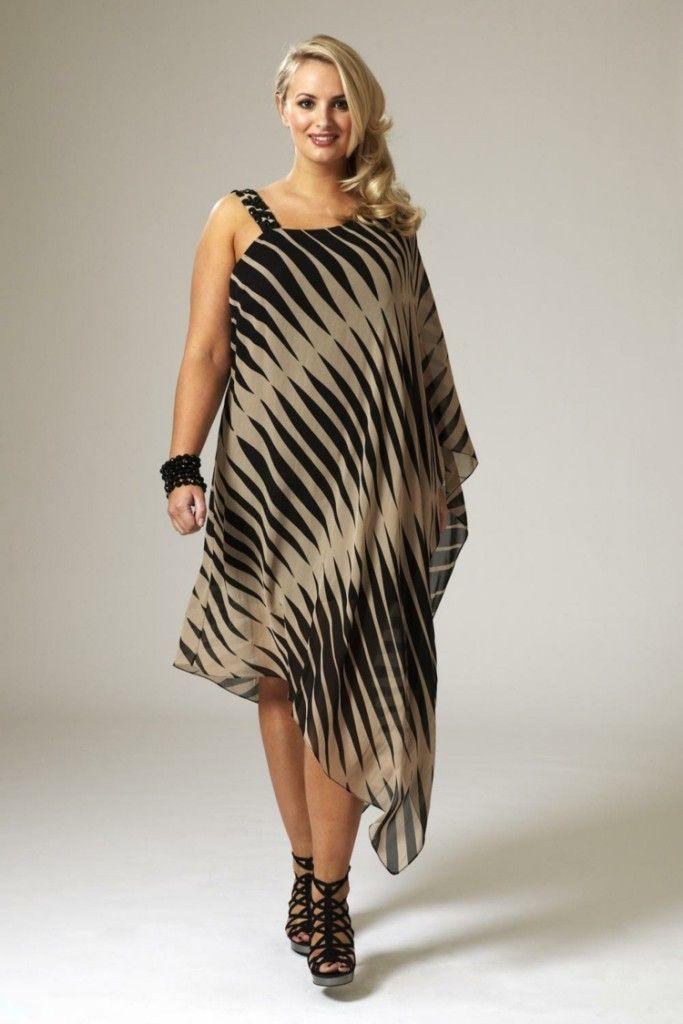Φορέματα σε μεγάλα μεγέθη - κομψή μόδα για γυναίκες με καμπύλες   SunnyDay