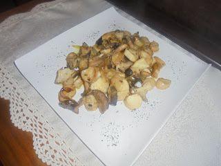 Mama lo cocina: SETAS DE CARDO AL AJILLO