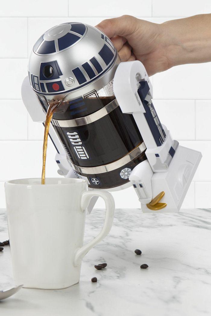 Weihnachtsgeschenk für Freund, Star Wars Kaffeemaschine, originelle Geschenkideen für jeden Geschmack