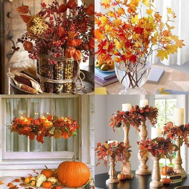 Jesenné dekorácie z lístia | Living Styles