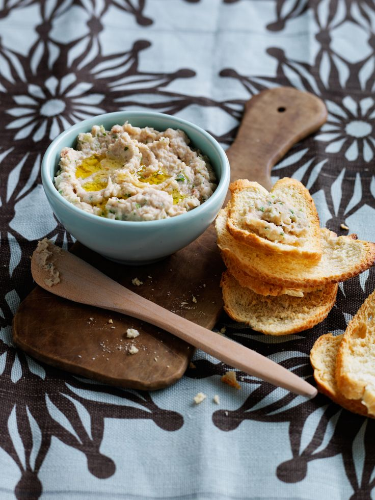 Recipes | Cannellini Bean Tuna Dip | Louise Fulton Keats