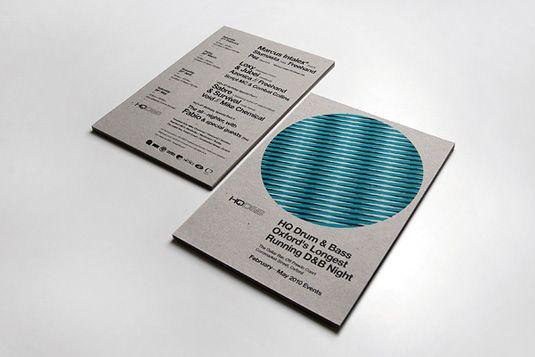 Flyer design HQ Drum amp Bass