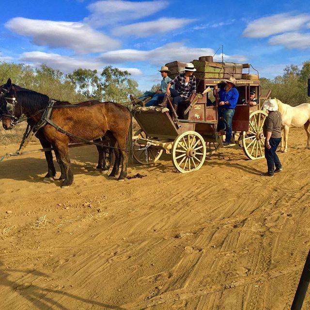 #outbackpioneers #kinnonandco #stagecoachexperience #outbackqueensland #whatsupdownunder #lotuscaravans #bigredbash #bigredbash2017