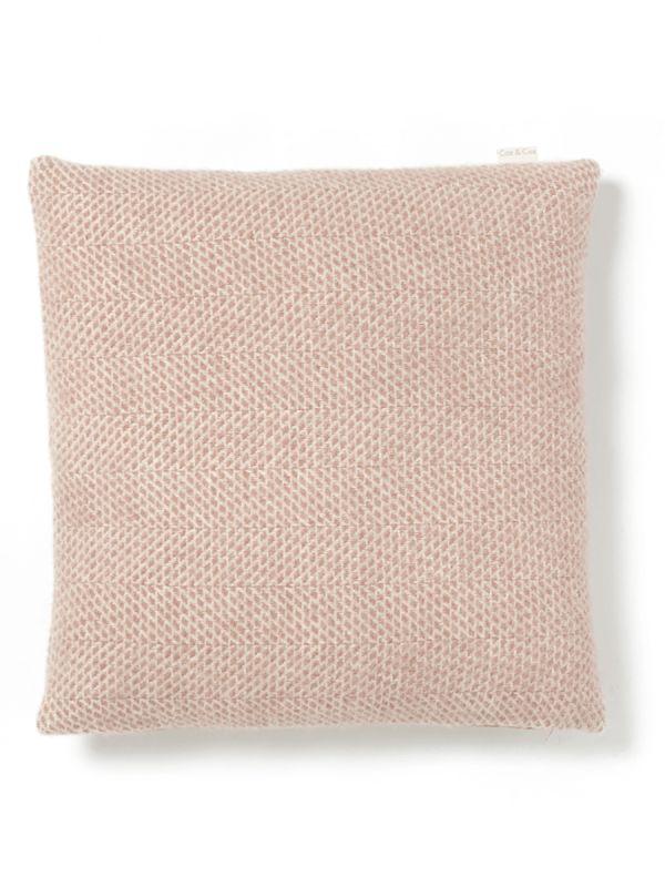 Soft Wool Cushion - Blush - Luxury Cushions - Home Textiles