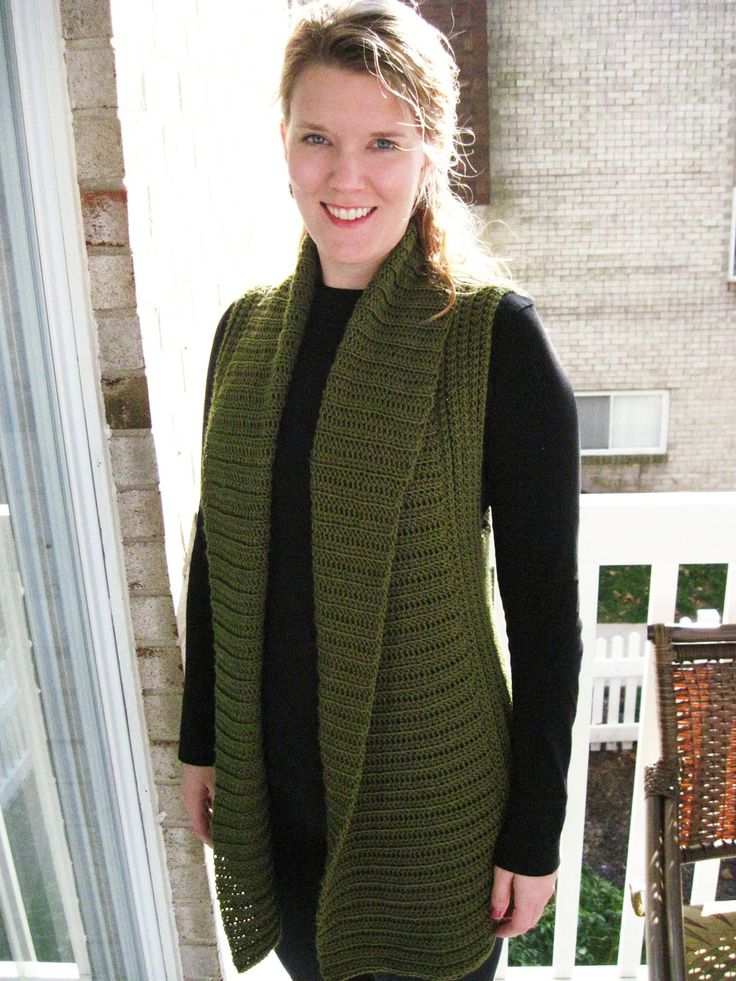 CROCHET PATTERN: Belinda Vest