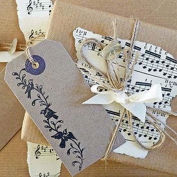 vintage sheet music for wedding styling by delightful living weddings   notonthehighstreet.com
