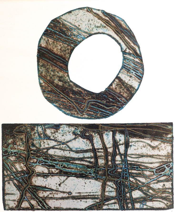 Penwith Stone II Collagraph