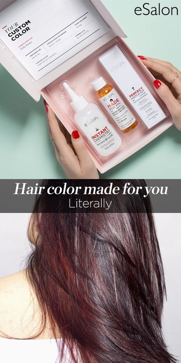 "Forget drugstore hair color - Made For You custom color from eSalon lets you achieve professional, long lasting results from the comfort of home. Find out why Allure has named it ""Best Home Color"" for the last three years."