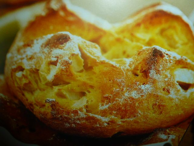 pane con yogurt - alla mela verde