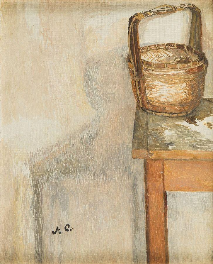 Józef Czapski (1896 Praga - 1993 Maisons Laffitte) Martwa natura olej/płótno, 41,5 x 34 cm