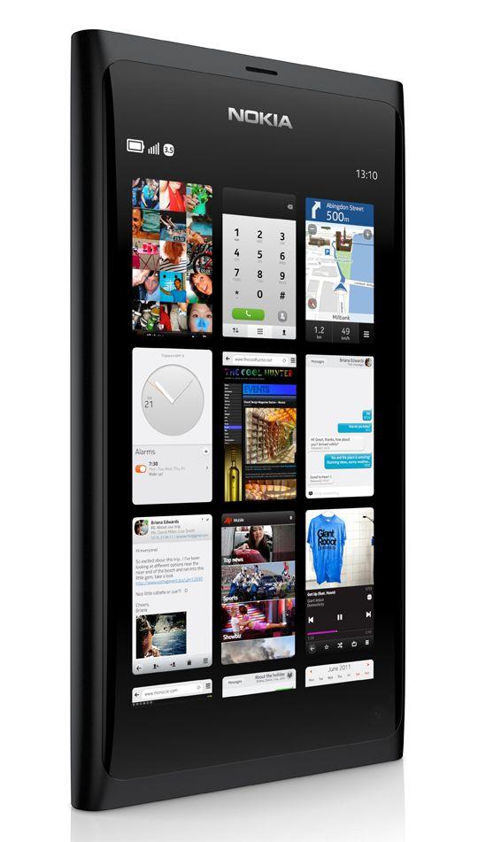 Nokia N9 MeeGo.