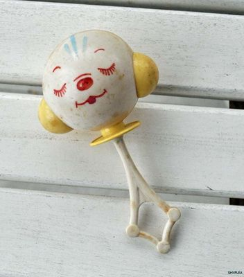 Vintage Baby Rattle
