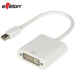 Mini DP vers DVI Converter connecteur Mini Display Port vers DVI 24 + 1 Câble adaptateur pour MacBook Pro Air Pour DVI