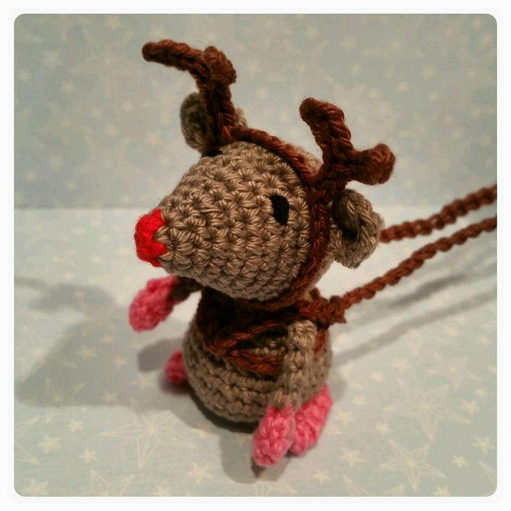 Rudolph (Double treble trinkets design)
