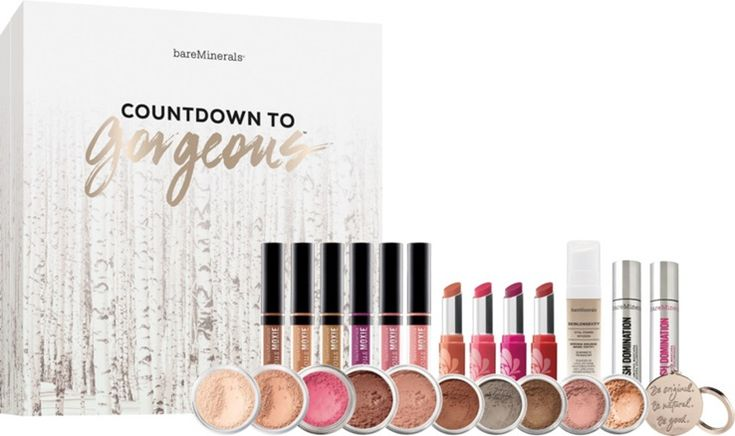 Bare Minerals Holiday 2016 Countdown To Gorgeous Advent Calendar $79