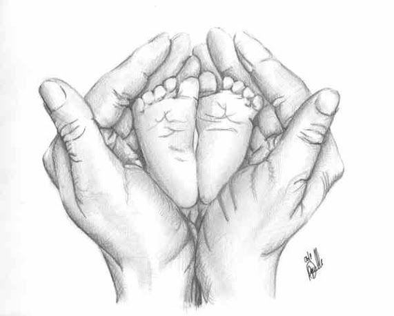 pencil drawings of babies - Google Search
