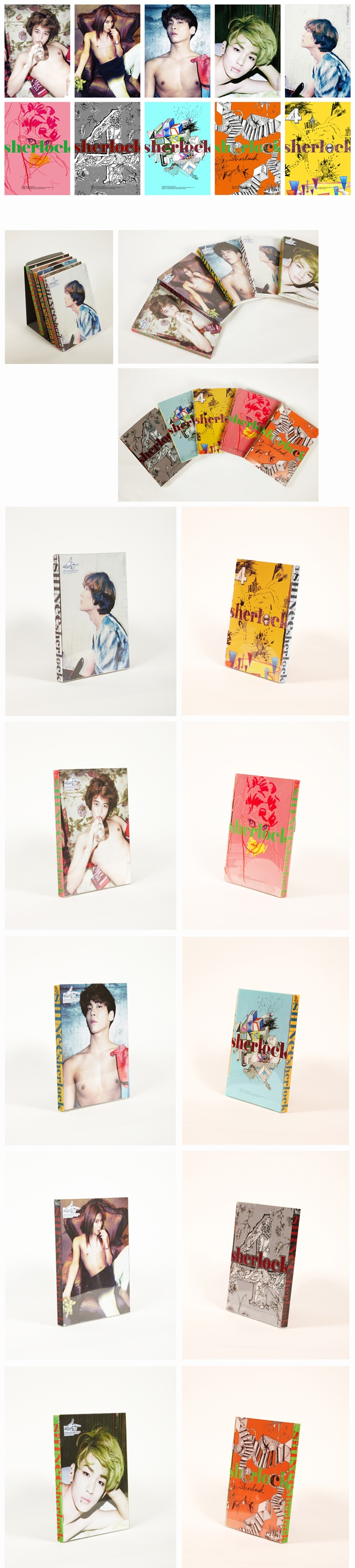 SHINee Sherlock Multiple Covers