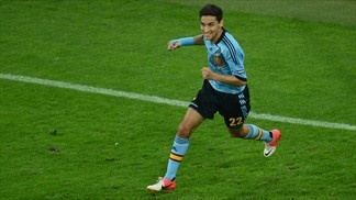 Jesús Navas has overcome personal issues to become a key player for Spain