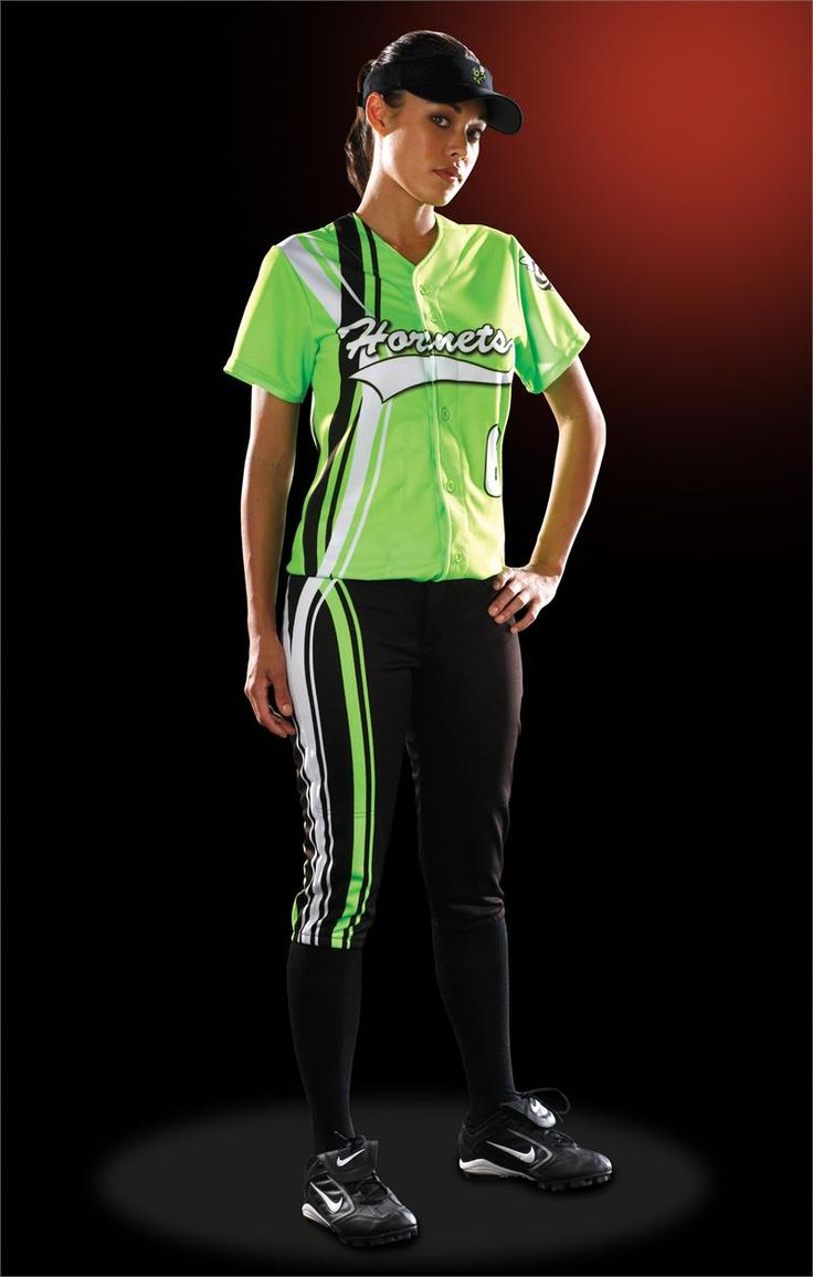 softball+uniforms+girls | Dual Carbs Women's Sublimated Softball Jersey Teamwork ProSphere