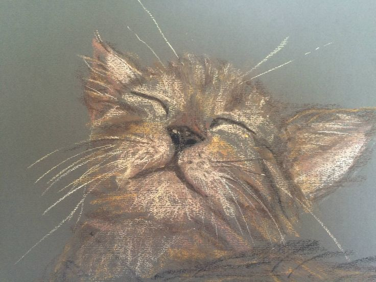 My first pastel sketch