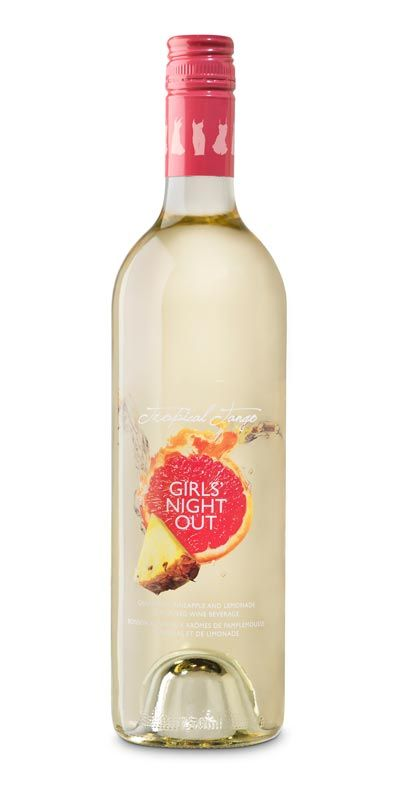 I just tried the Girls Night Out Wine in Tropical Tango tonight, and it was very light and refreshing! It is fruity, which I look for, and it doesn't have a heavy alcohol flavor! :) It includes grapefruit, pineapple, and lemonade, yumm!!