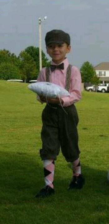 Our golf themed wedding...