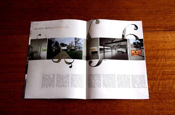 MOD  - Editorial Design by Michael Schepis, via Behance