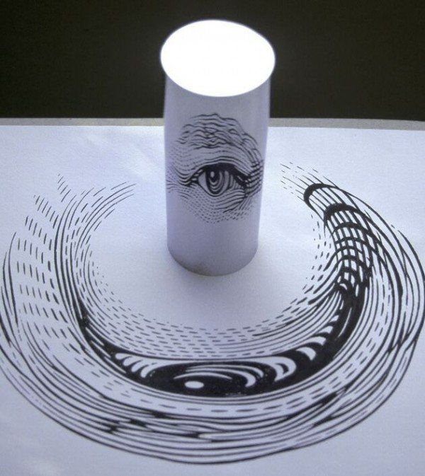 Best Its Anamorphic Images On Pinterest Painting Adhesive - Anamorphic art looks real