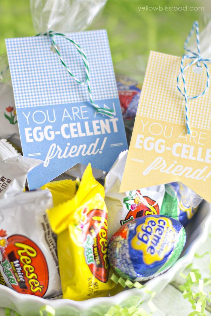 You Are an Egg-Cellent Friend Free Printable