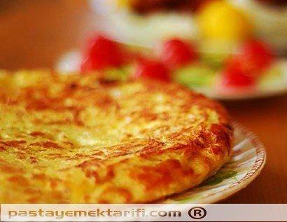 Ispanyol Omleti resimli yemek tarifi, Aperatifler, Kahvaltılık, Salatalar tarifleri