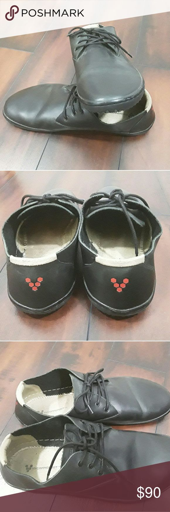 Vivobarefoot patented men leather shoes size 46 EU Vivobarefoot patented men leather shoes black size 46 EU  12 US.  Good used condition. Non smoking house. vivobarefoot  Shoes Sneakers