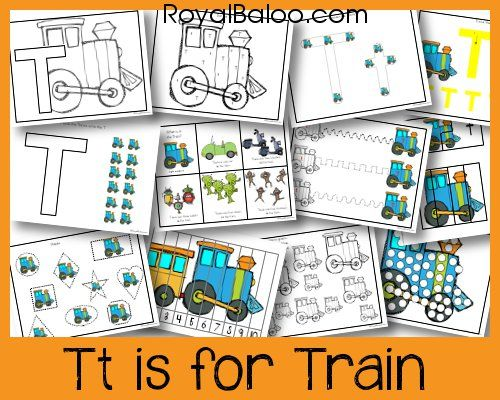 T is for Train Preview - This Tt is for Train Pack goes with my Zoomin Moving ABCs