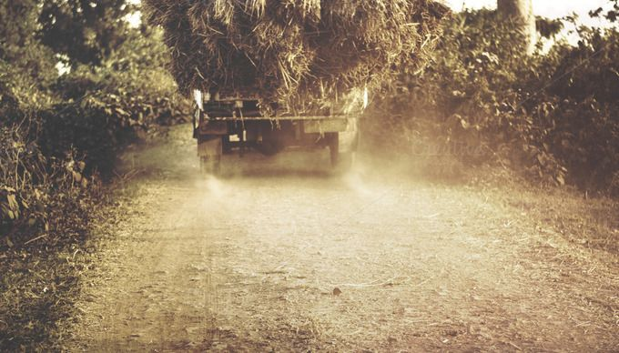 Check out The Hay Truck by Shots By RC on Creative Market
