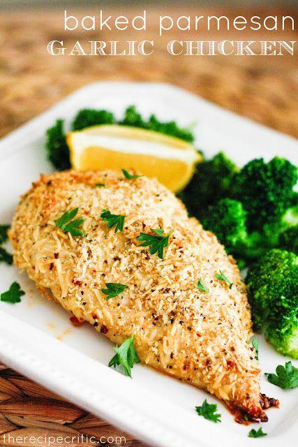 *yummy*Baked Parmesan Garlic Chicken | The Recipe Critic