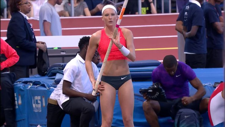 "USATF.TV - Videos - Megan Clarke 14' 1.25"" Women's Pole Vault - NYRR Millrose Games 2016"