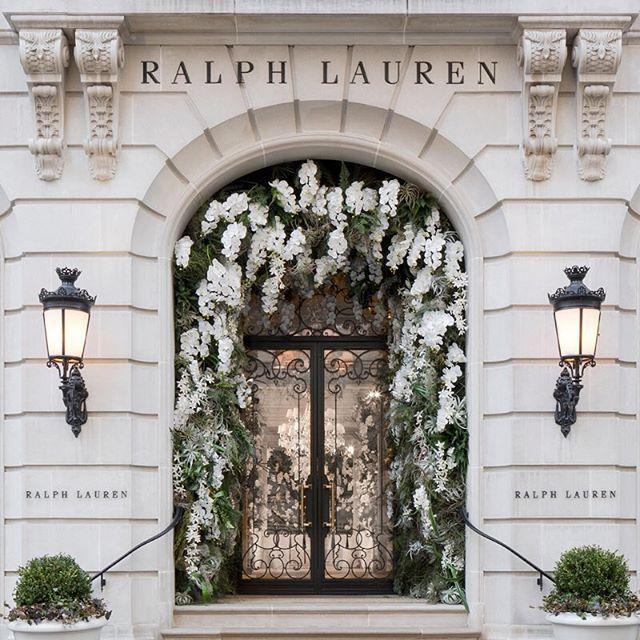 Fashion & Flowers: Ralph Lauren Edition
