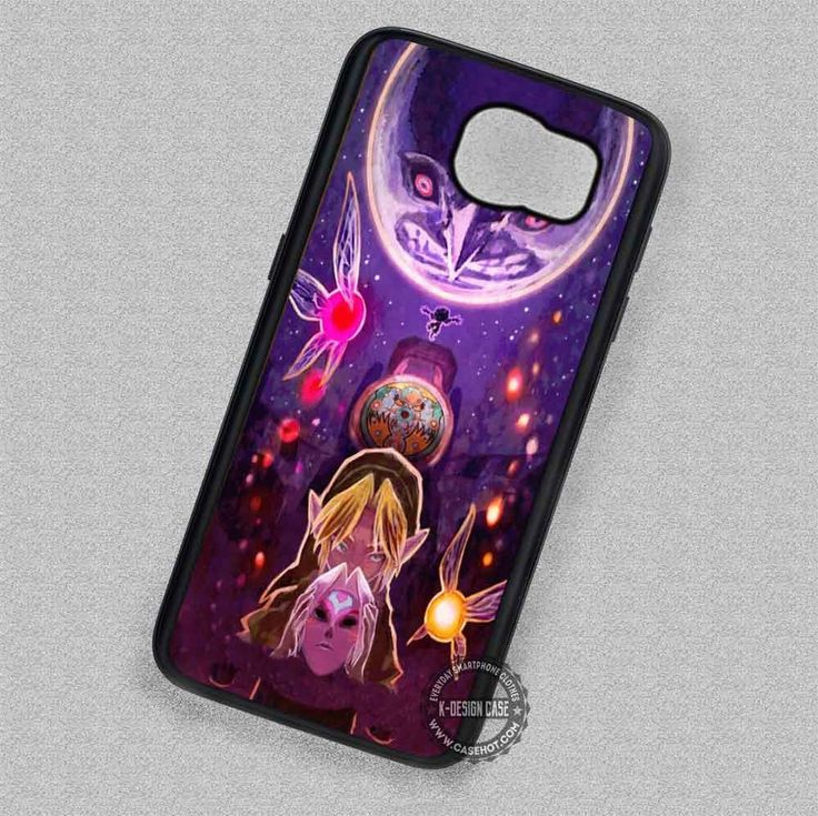 Galaxy Moon Majora's Mask Link Legend of Zelda - Samsung Galaxy S7 S6 S5 Note 7 Cases & Covers