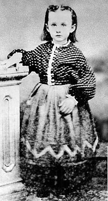 Anna Mary Robertson (later known as Grandma Moses) in the 1860's