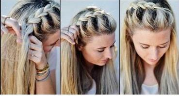 Coiffure facile à faire cheveux mi long | Coiffure simple et facile