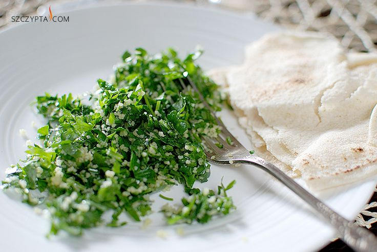 rosewater parsley salad