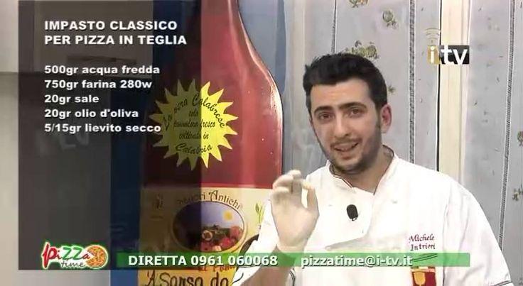 Pizza Time - Preparazione Impasto pizza in teglia con latte 4