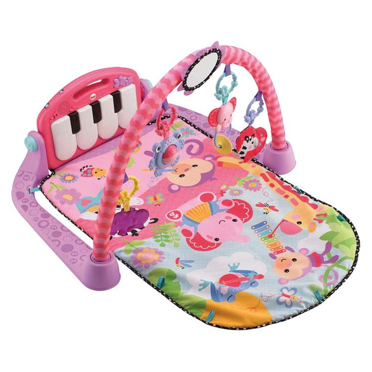Fisher-Price Kick 'n Play Piano Gym - Pink